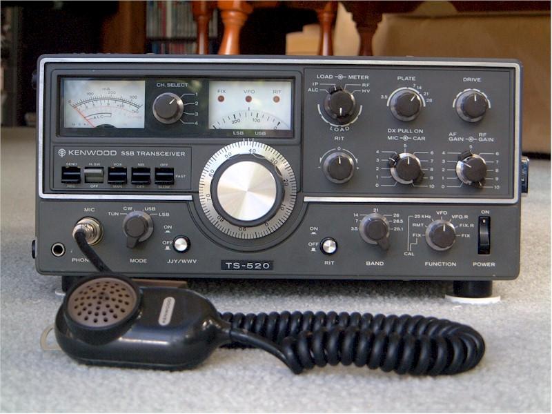 Radio Attic S Archives Kenwood Ts 520 Hf Transceiver