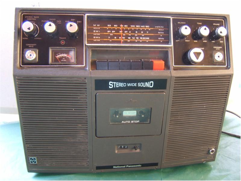 Radio Attic S Archives Panasonic Sg 740 Manufactured In
