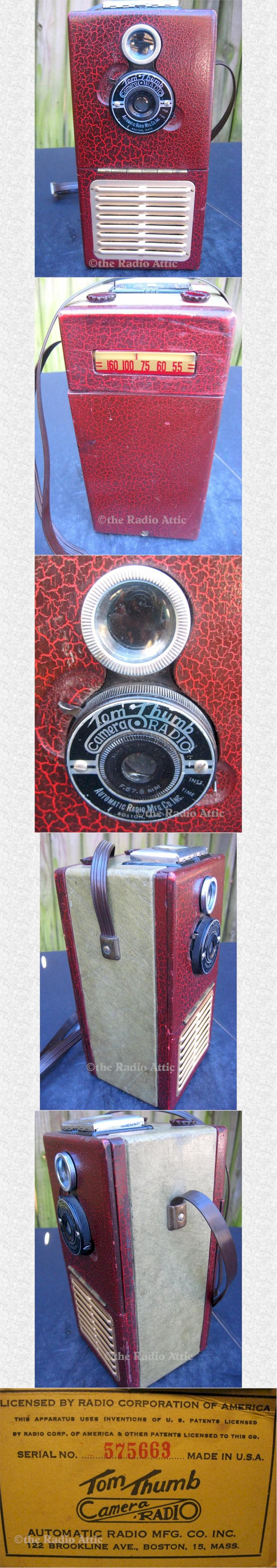 Tom Thumb Camera Radio