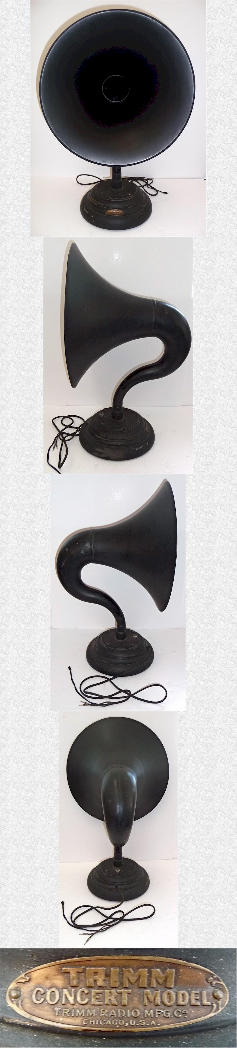Trimm Concert Model Horn Speaker